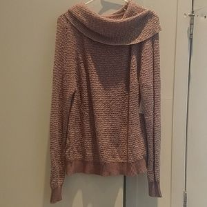 Free People cowl neck lightweight sweater